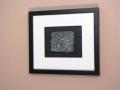 Framed Slate (stone), Painted..